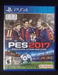 Jogo PES 2017 PS4