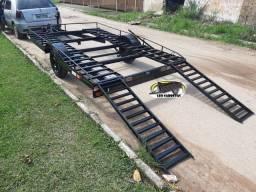 Carreta para transportar UTV ou Quadriciclo