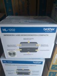 Impressora Laser Monocromática Compacta Brother HL 1202