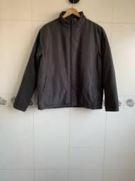 Jaqueta Cinza, masculina, tamanho G.