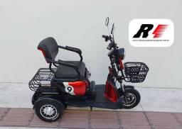 Triciclo Elétrico 500w p/ Idosos & Cadeirantes