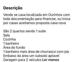 Venda ou /troca de casa / permuta em São Paulo e regiões e aceitamos carro