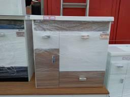 Gabinete com espelheira 60cm