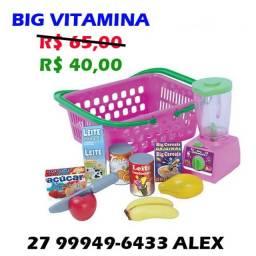 Cesta Big Vitamina com Liquidificador