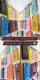 Cases de iphones 7, 8, 7 e 8 plus ,x,xr,11,11 pro e max
