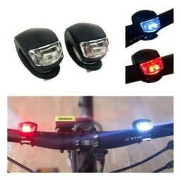 Par de lanternas para bicicleta