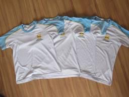 Camiseta Manga curta Uniforme Adventista.