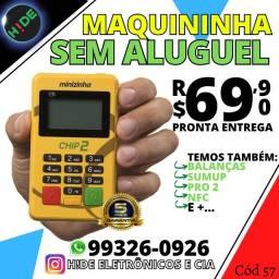 Minizinha Chip 2 - PagSeguro (Pronta entrega)