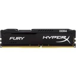 Memória RAM, 4gb, DDR4, 2666mhz, Hyperx fury