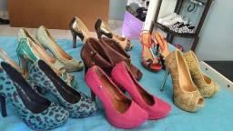 Vendo sapatos de salto  preços apartir de 40 reais