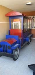 Vendo Treinzinho, Quiosque, carrinho de churros e pipoca