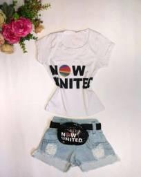 Conjunto Blogueirinha - Mini Influencer - 3 peças - Jeans