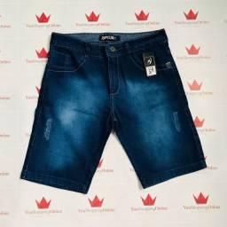 Bermudas jeans em atacado