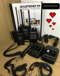 Rádio transmissor baofeng 888 alcança até 20 km produto novo