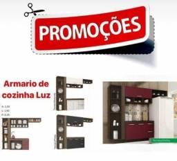 armário de cozinha Luz direto da fabrica