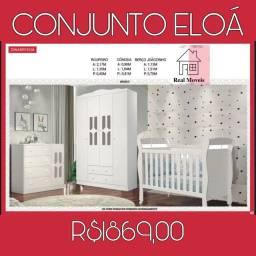 CONJUNTO INFANTIL COMPLETO ENTREGO E MONTO