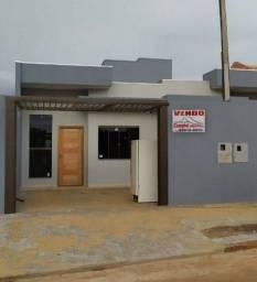 Casa nova 2 dormitórios no Florais do Paraná, com quintal