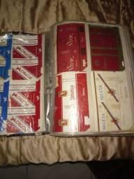 Coleção de marcas de cigarro