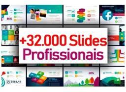 +32.000 Slides Comerciais Editáveis + Mockups (power Point)