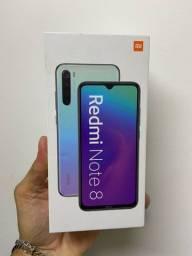 Xiaomi redmi note 8 128gb novos lacrados com 1 ano de garantia + brinde