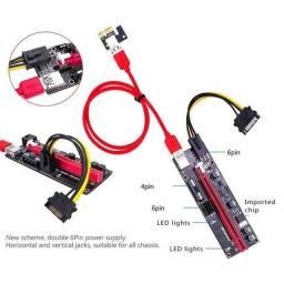 Kit Riser 1x16x gpu extensor - pci-e usb 3.0