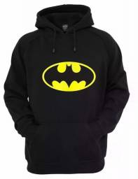 Moletom Batman Unissex DC Comics Blusa de Frio