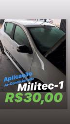 Aplicação MILITEC-1 Ar-condicionado