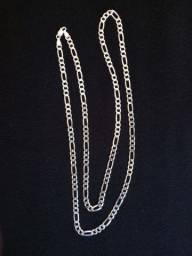 Cordão de prata grumet 3x1