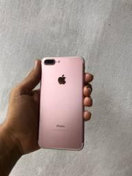 iPhone 7 Plus rose 32gb (Aceito cartão)