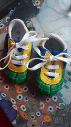Mini Chuteira Brasil Tam 17