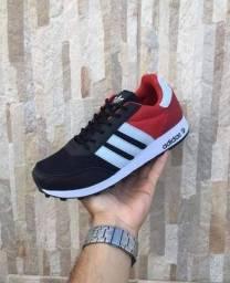 Adidas Neo Black/Red (PROMOÇÃO)