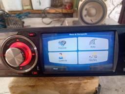 Rádio automotivo H Buster com Bluetooth