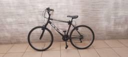 Bicicleta Caloi de alumínio