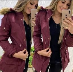 Jaqueta parka nova moda inverno