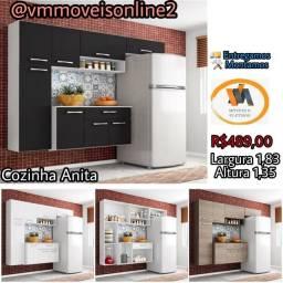 armário de cozinha Anita direto da fabrica