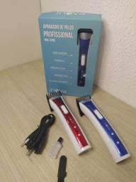 Aparador elétrico e maquina de corta cabelo