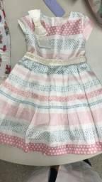 Vestido fem infantil