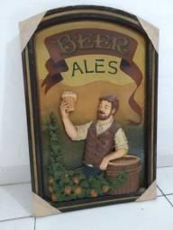 Quadro decoração Beer Ales