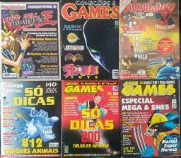 Revistas antigas de Games