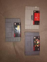 Jogos super Nintendo 40 reais cada