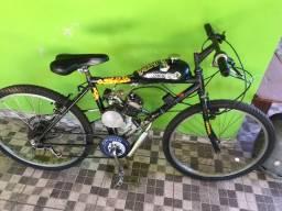 Bicicleta motorizada 80 cc apenas venda em dinheiro ou troca em iPhone 7