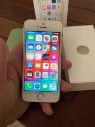 Iphone 5S - SEM MARCAS DE USO! Aceito cartão!