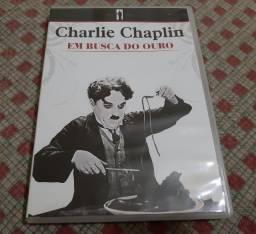 DVD Charles Chaplin - Em Busca Do Ouro - Ótimo Estado