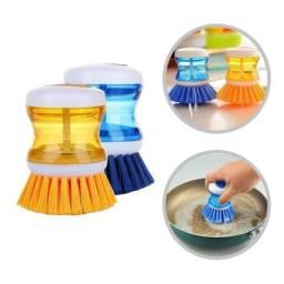 Título do anúncio: Escova Limpeza Multiuso Profissional Com Reservatório Sabão