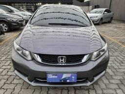Honda Civic LXR 2016 GNV R$ 62.900 + entrada
