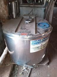 Resfriador granel 350 litros de leite, Ordenhadeira, Tarro, carrinho e teteira