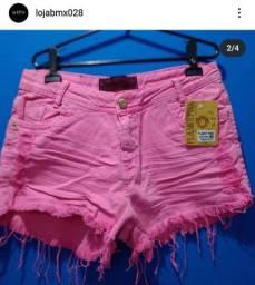 Vendo Roupas Femininas ( shorts coloridos, cropped , shorts jeans e conjunto Calvin Klein)