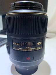 Lente Nikon 105mm 2.8