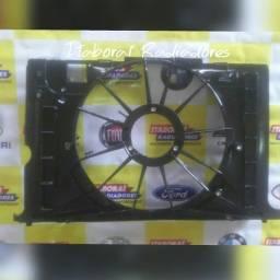 defletor suporte carcaça ventoinha toyota corolla 2009 a 2014