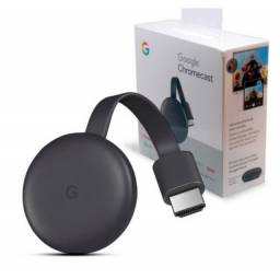 Chromecast 3 novos lacrados com 3 meses de garantia
